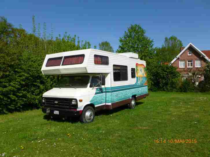 chevrolet wohnmobil v8 5 7l t v und au bis 5 wohnwagen. Black Bedroom Furniture Sets. Home Design Ideas