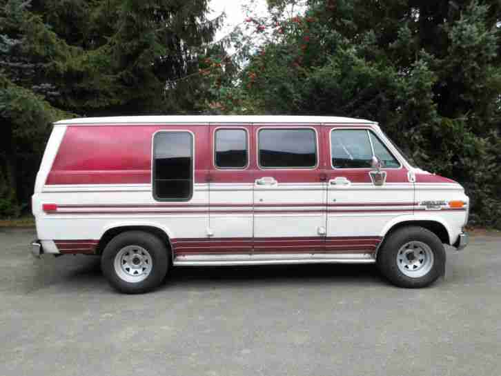 chevy van chevrolet g20 van sportvan 1989 die besten angebote amerikanischen autos. Black Bedroom Furniture Sets. Home Design Ideas