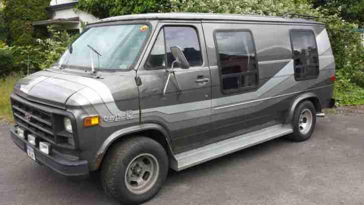 chevrolet van g20 starcraft gt serie die besten angebote amerikanischen autos. Black Bedroom Furniture Sets. Home Design Ideas