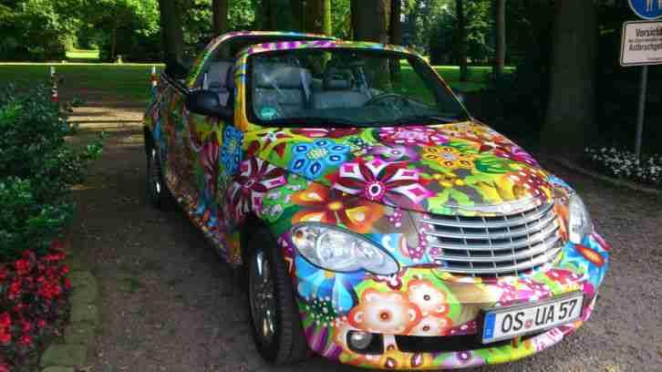 chrysler pt cruiser cabrio mit gasanlage flower angebote. Black Bedroom Furniture Sets. Home Design Ideas