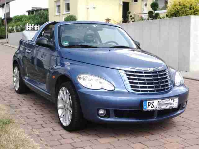chrysler pt cruiser limited cabrio 57500 km die besten. Black Bedroom Furniture Sets. Home Design Ideas