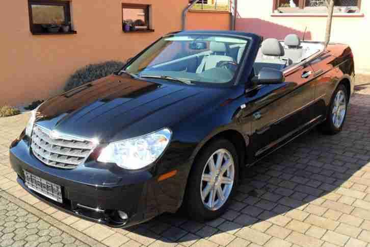 chrysler sebring cabrio 2 7 limited lpg angebote dem. Black Bedroom Furniture Sets. Home Design Ideas