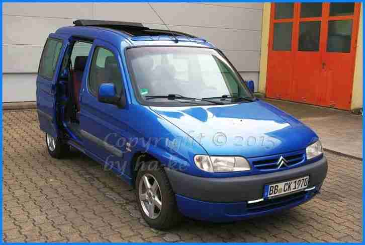 Citroen Berlingo 1.8i Multispace TÜV 06 2016