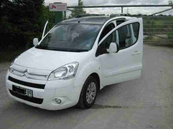 Citroën Berlingo VTi 120 PS CoolTech Exclusive weiss 53560km 1.Hand