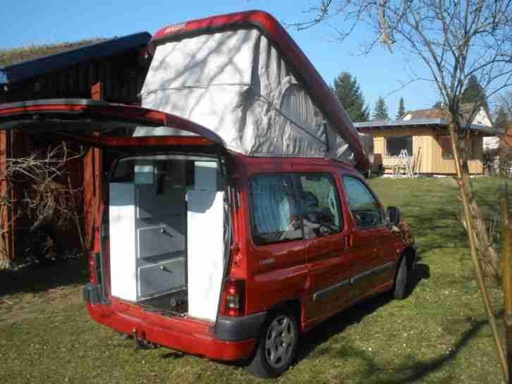 citroen berlingo zooom mini wohnmobil womo wohnwagen. Black Bedroom Furniture Sets. Home Design Ideas