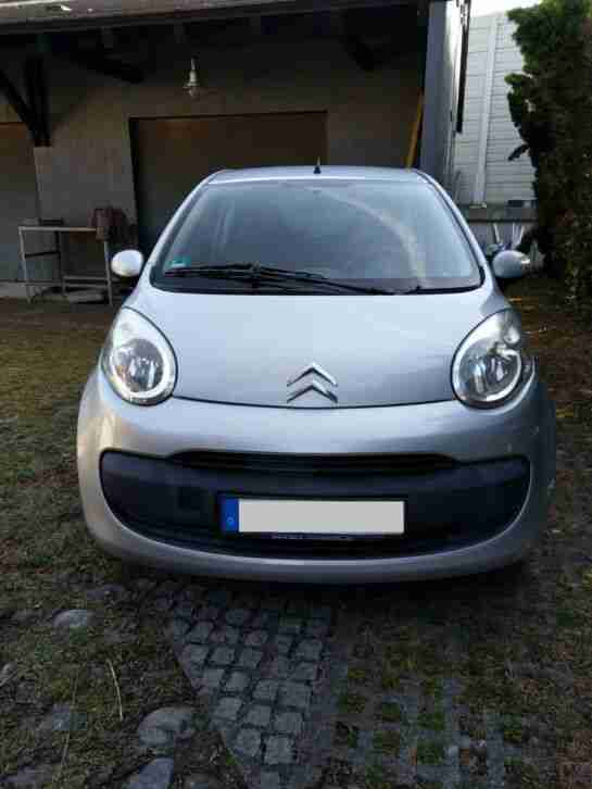 Citroen C1 Style 1, 4 Liter HDI 40 kW, 55 PS silber