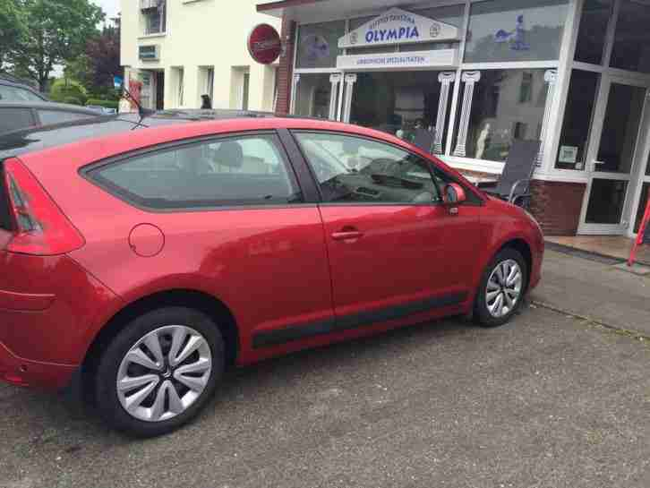 Citroen C4 Coupe 1, 6 HDI, Panorama und viele Extras!