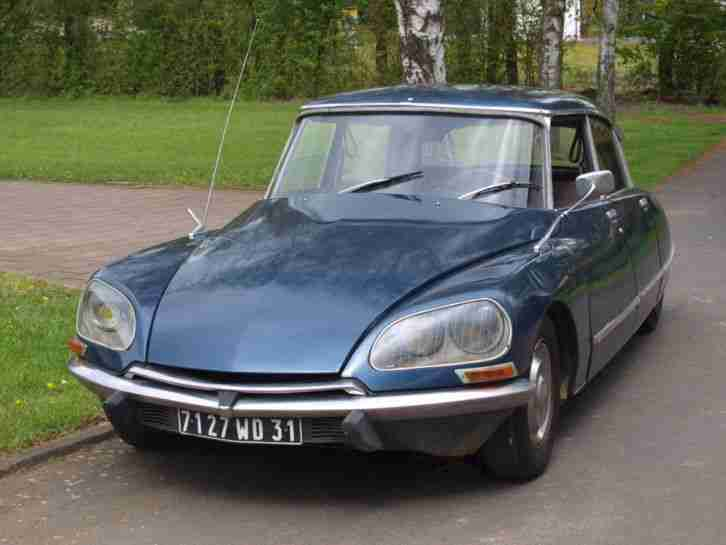 Citroen DS 21 Pallas Injection Autom. Bauj.72 zum restaurieren, Originalzustand