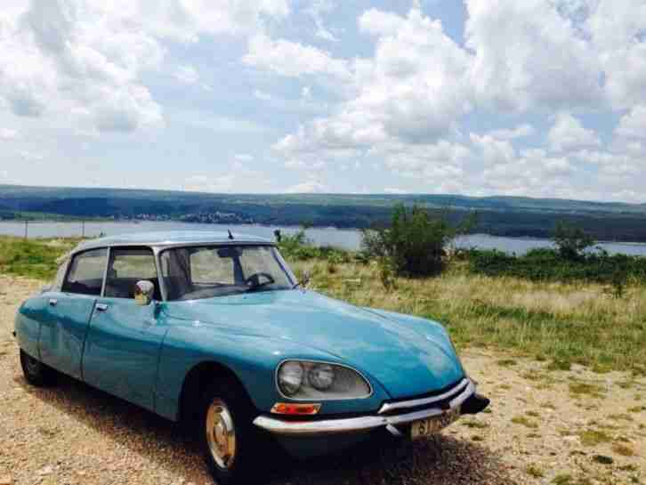 Citroen DS 21 super 5 Bj. 1975 Oldtimer