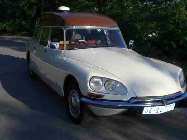 Citroen Ds 20 Ambulance Oldtimer Raritat