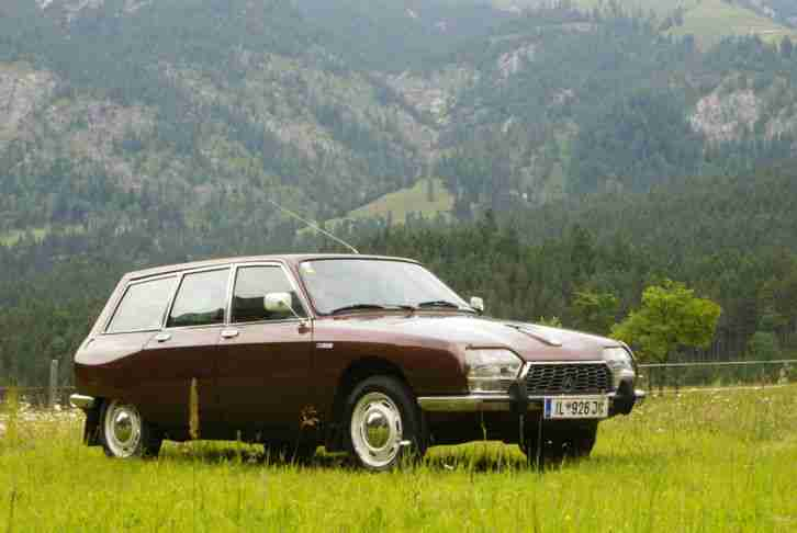 Citroen GS Break Club, Erstbesitz, BJ 1976