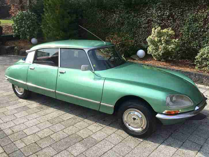 Citroen ID DS Oldtimer mit 23 i.E Motor, 5 Gang, LPG ,123 Ignition neuer Service