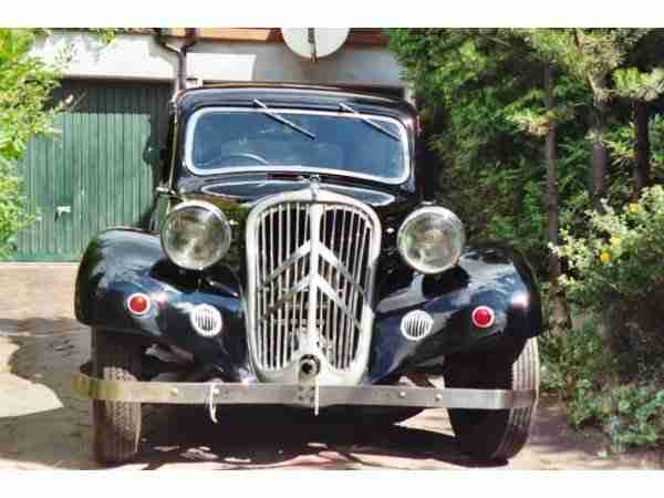 Citroën Traction Avant C7, Oldtimer 1937