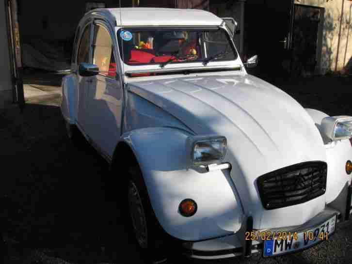 Citronen 2 CV 6 Club ( Die Ente ) 1986 Youngtimer