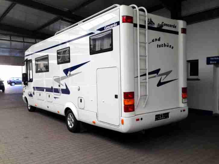 concorde 800h mercedes vollaustattung 2 hand wohnwagen wohnmobile. Black Bedroom Furniture Sets. Home Design Ideas