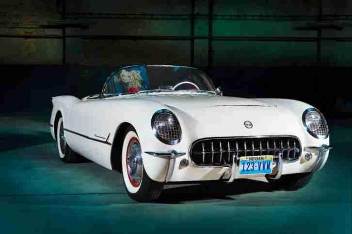 corvette c1 1954 cabrio roadster 70000 meilen topseller. Black Bedroom Furniture Sets. Home Design Ideas