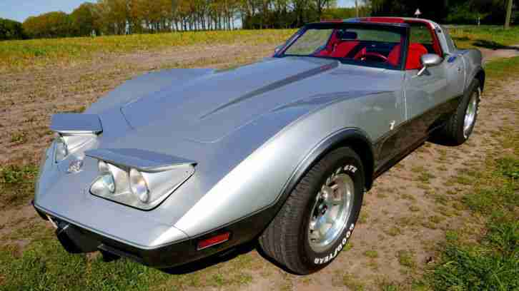 corvette c3 1978 silver anniversary 37500 die besten angebote amerikanischen autos. Black Bedroom Furniture Sets. Home Design Ideas