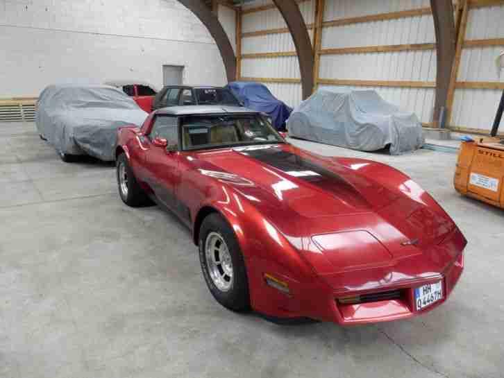 corvette c3 1981 targa autom v8 h kennzeichen topseller. Black Bedroom Furniture Sets. Home Design Ideas