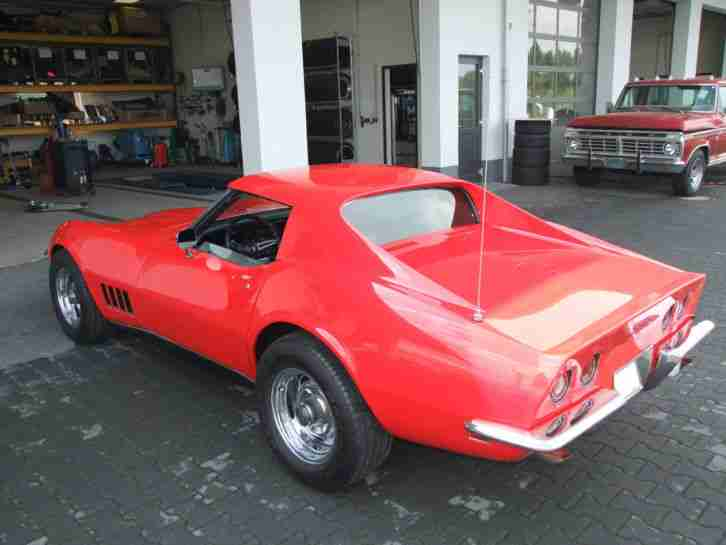 corvette c3 stingray t top 1969 350cui v8 t v die. Black Bedroom Furniture Sets. Home Design Ideas