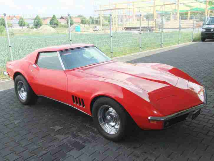 Corvette C3 Stingray T Top 1969, 350cui V8, TÜV und H