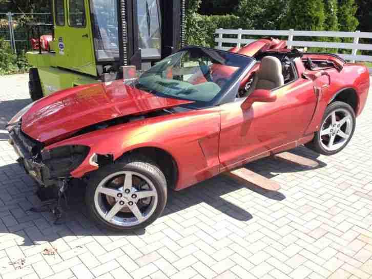 corvette c6 coupe unfallschaden die besten angebote. Black Bedroom Furniture Sets. Home Design Ideas