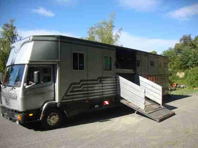 db pferdetransporter 817 mit schleppachse t v. Black Bedroom Furniture Sets. Home Design Ideas