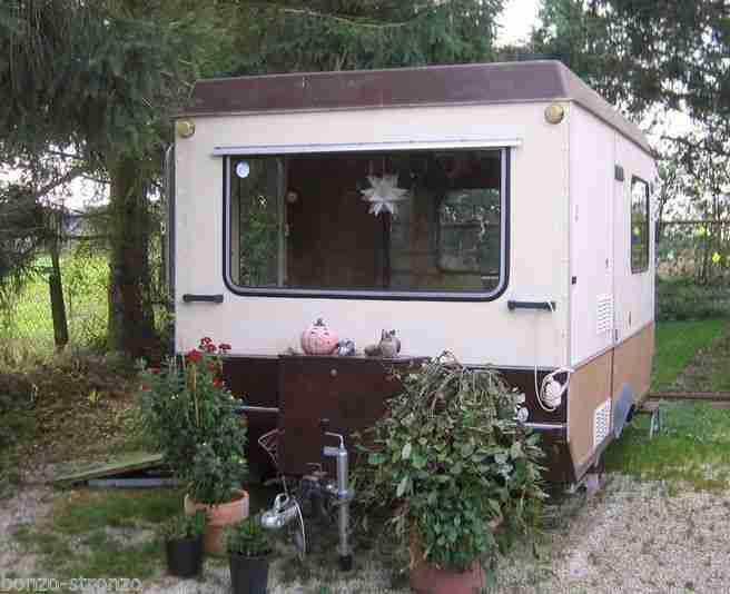 Wohnwagen Knaus Eurostar 495tf Autark 12v Wohnwagen