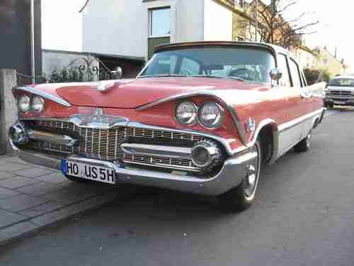 DODGE CUSTOM ROYAL Bj.1959 H Zul, Oldtimer, TOP