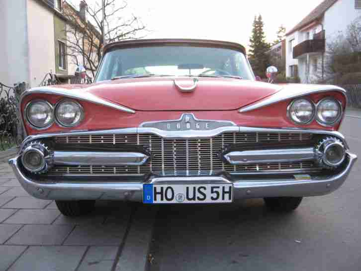 DODGE CUSTOM ROYAL Bj.1959 H Zulassung, Oldtimer