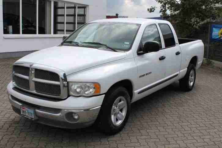 dodge ram 1500 slt quad cabin 4 7 magnum die besten angebote amerikanischen autos. Black Bedroom Furniture Sets. Home Design Ideas