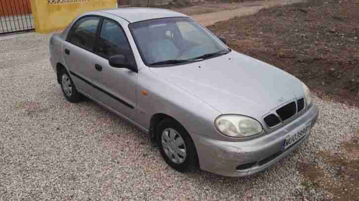 Daewoo Lanos SE 1.5i, LHD Spanish plates, IN SPAIN, Left hand Drive,