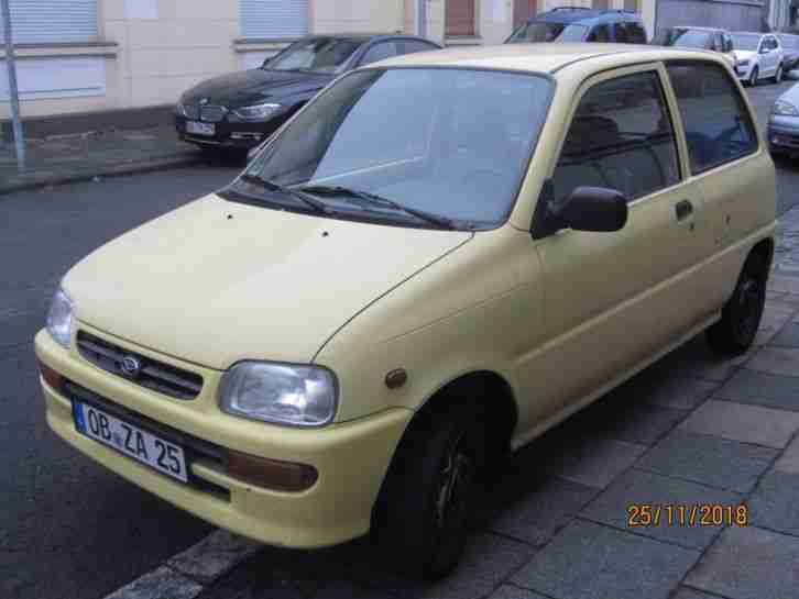 Daihatsu cuore l501, ideales Winterauto, Lemon Edition