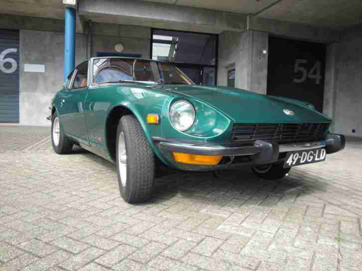 Datsun 240z 260Z 1973 dutch registerd 2 years tuv, 5 speed like new, a dream