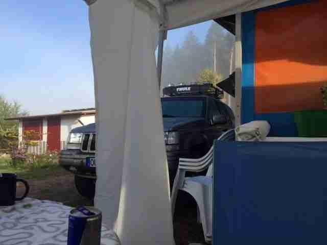 Zelt Mit Festem Bett : Dauerstellplatz am schluchsee wohnwagen mit