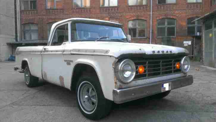 dodge d100 pickup 1967 v8 automatik usa truck die besten angebote amerikanischen autos. Black Bedroom Furniture Sets. Home Design Ideas