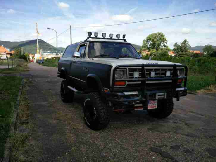 Dodge Ram Charger Bj.1986 V8 5,2ltr. Monster
