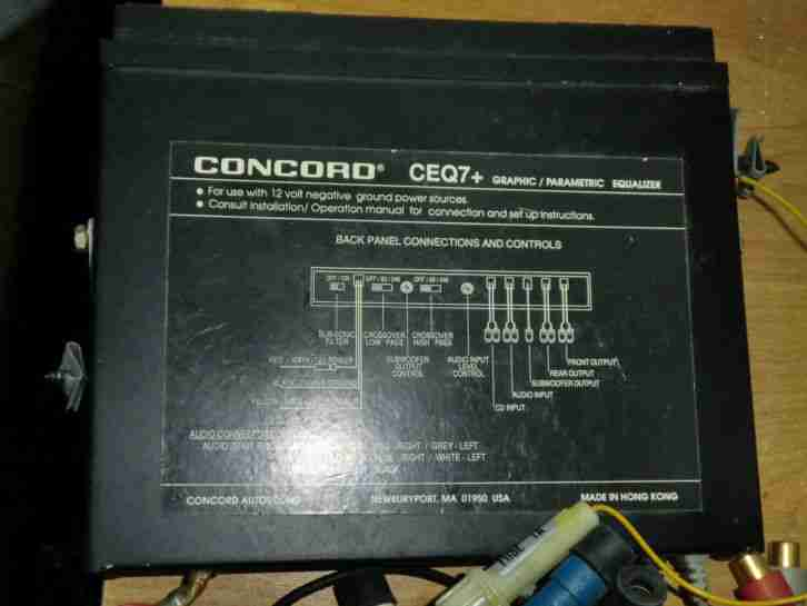 Equalizer Concord CEQ07