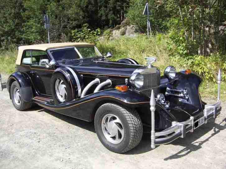 excalibur automobil phaeton serie 5 angebote dem auto. Black Bedroom Furniture Sets. Home Design Ideas