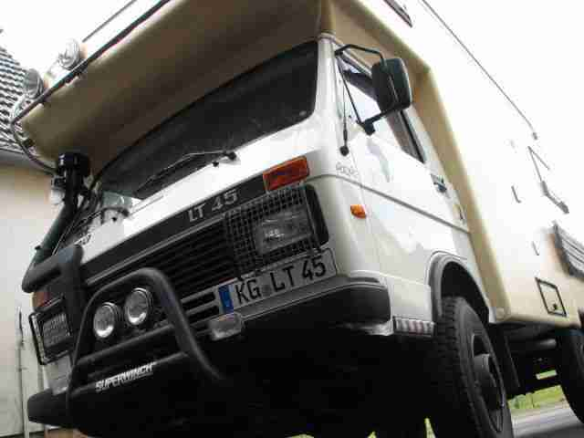 expeditionsfahrzeug vw lt 45 4x4 road ranger wohnwagen. Black Bedroom Furniture Sets. Home Design Ideas