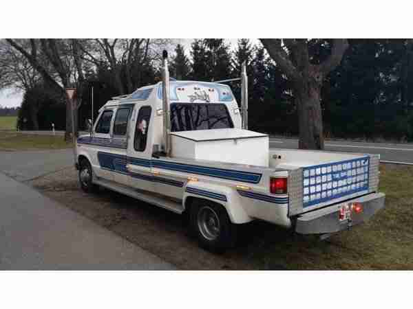FORD E 350 Cabriolet Show Truck 7, 3 L DIESEL