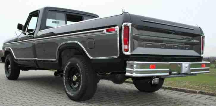 ford f 150 truck pickup 460 cui 7 5 l v8 1977 die besten. Black Bedroom Furniture Sets. Home Design Ideas