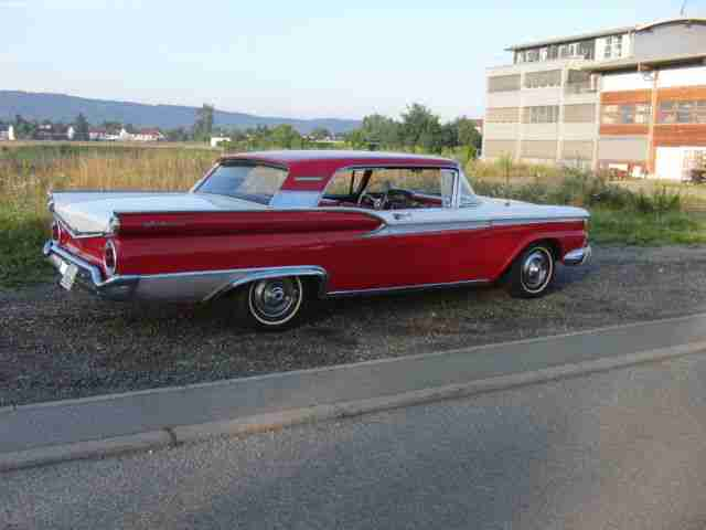 FORD GALAXIE 2 door 1959 H-ZULASSUNG