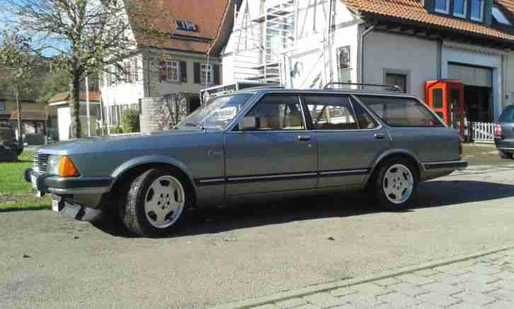 ford granada mkii kombi 2 8l ghia mit topseller oldtimer. Black Bedroom Furniture Sets. Home Design Ideas