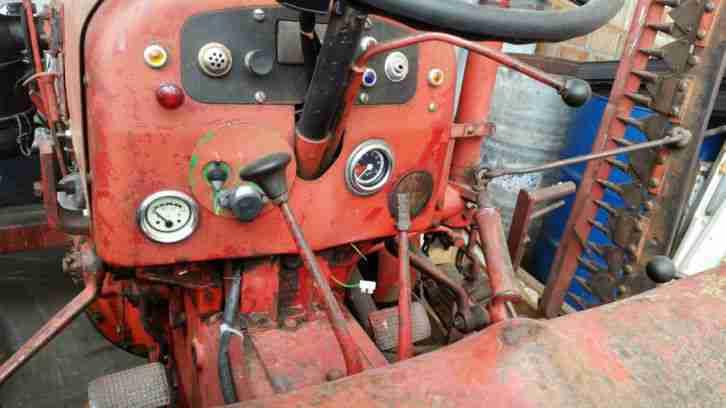 fahr traktor d177s bjh 1961 nutzfahrzeuge angebote. Black Bedroom Furniture Sets. Home Design Ideas