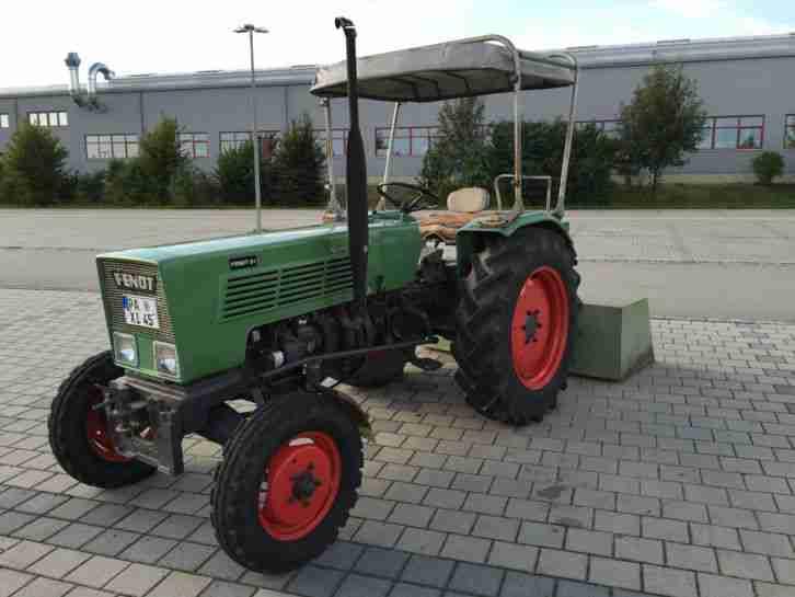 fendt farmer 1d fl 131 s traktor bulldog nutzfahrzeuge. Black Bedroom Furniture Sets. Home Design Ideas