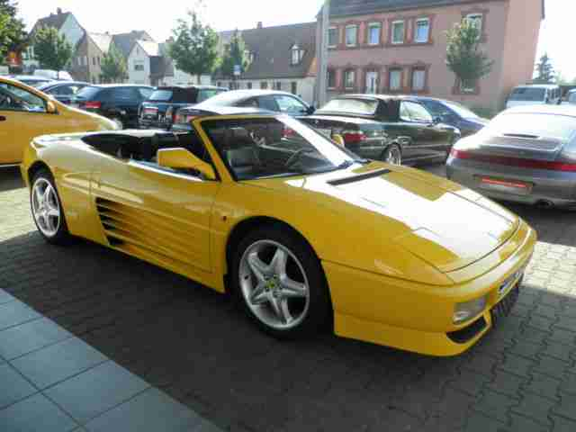 ferrari 348 spider cabrio tolle angebote in ferrari. Black Bedroom Furniture Sets. Home Design Ideas
