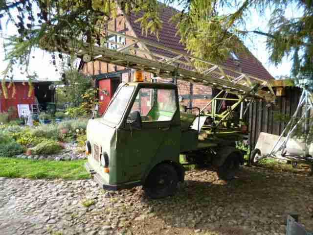 feuerwehr leiterwagen multicar oldtimer nutzfahrzeuge. Black Bedroom Furniture Sets. Home Design Ideas