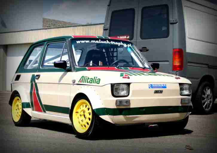 Fiat 126p Rallye Racing Abarth