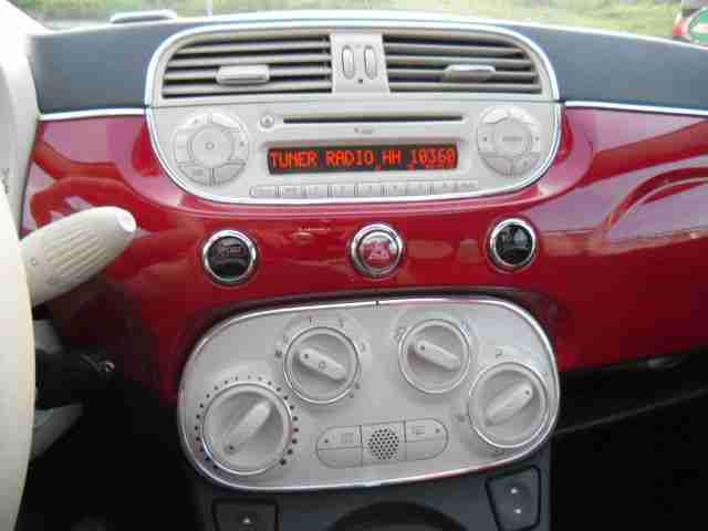 Fiat 500 1.4 16V Dualogic Lounge 6-gang