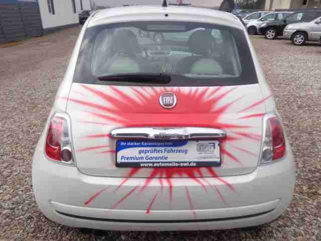 Fiat 500 EDITION WE LOVE Leder Klima